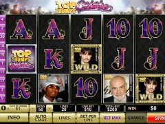 Top Trumps Celebs слот автоматы slot-77.com Playtech 1/5