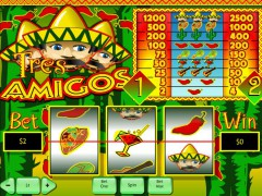 Tres Amigos слот автоматы slot-77.com Playtech 1/5
