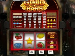 Gold in Bars слот автоматы slot-77.com GamesOS 1/5