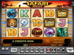 Safari Heat слот автоматы slot-77.com Gaminator 4/5