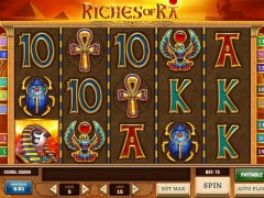 Riches of Ra слот автоматы slot-77.com Play'nGo 1/5