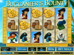 Buccaneer's Bounty слот автоматы slot-77.com CryptoLogic 1/5