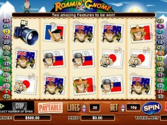 Roamin' Gnome слот автоматы slot-77.com CryptoLogic 1/5