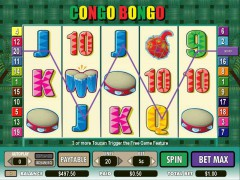 Congo Bongo слот автоматы slot-77.com CryptoLogic 3/5