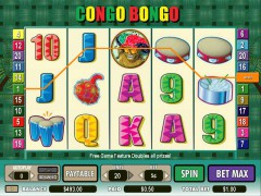 Congo Bongo слот автоматы slot-77.com CryptoLogic 4/5