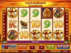 Savannah Sunrise слот автоматы slot-77.com CryptoLogic 1/5