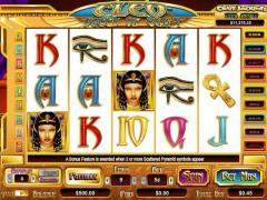 Cleo Queen of Egypt слот автоматы slot-77.com CryptoLogic 1/5