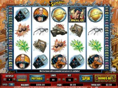 Superman слот автоматы slot-77.com CryptoLogic 1/5