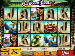 Caribbean Paradise слот автоматы slot-77.com MultiSlot 1/5