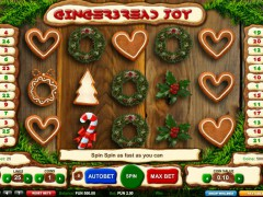 Gingerbread Joy - 1X2gaming