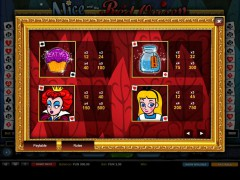 Alice and the Red Queen слот автоматы slot-77.com 1X2gaming 3/5