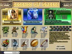Legends of Greece слот автоматы slot-77.com Betonsoft 2/5