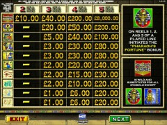 Pharaoh's Fortune слот автоматы slot-77.com IGT Interactive 2/5