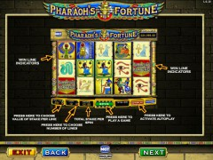 Pharaoh's Fortune слот автоматы slot-77.com IGT Interactive 3/5