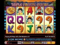 Triple Fortune Dragon - IGT Interactive