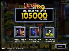 Under The Bed слот автоматы slot-77.com Betsoft 1/5