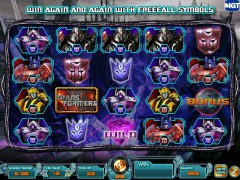 Transformers: Battle For Cybertron - IGT Interactive