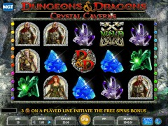 Dungeons And Dragons - Crystal Cavenrs - IGT Interactive
