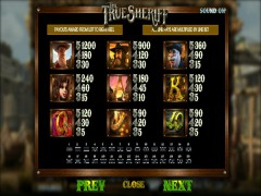 The True Sheriff слот автоматы slot-77.com Betsoft 3/5
