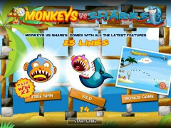 Monkeys VS Sharks слот автоматы slot-77.com World Match 1/5