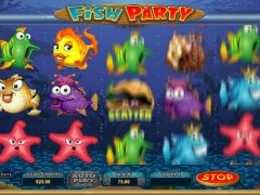 Fish Party слот автоматы slot-77.com Microgaming 3/5