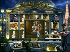 A Night in Paris слот автоматы slot-77.com Betsoft 4/5