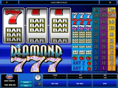 Diamond 777 - Microgaming