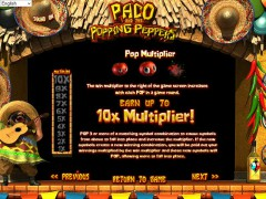 Paco and the Popping Peppers слот автоматы slot-77.com Betsoft 3/5