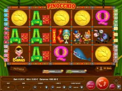 Pinocchio слот автоматы slot-77.com Wirex Games 1/5