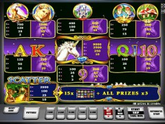 Unicorn Magic слот автоматы slot-77.com Gaminator 3/5