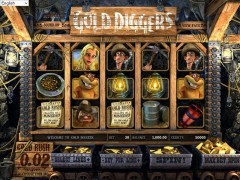 Gold Diggers слот автоматы slot-77.com Betsoft 1/5
