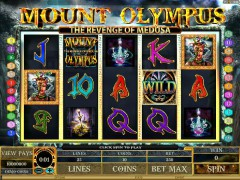 Mount Olympus - Revenge of Medusa - Microgaming
