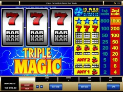 Triple Magic - Microgaming