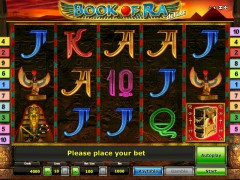 Book of Ra deluxe слот автоматы slot-77.com Greentube 1/5