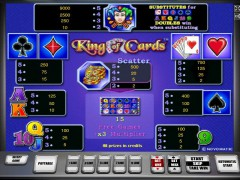 King of cards слот автоматы slot-77.com Greentube 1/5