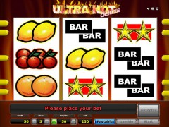 Ultra hot deluxe слот автоматы slot-77.com Greentube 1/5