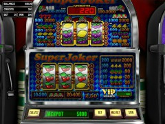 Super Joker VIP слот автоматы slot-77.com Betsoft 4/5