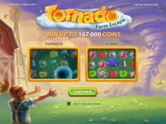 Tornado Farm Escape - NetEnt