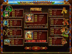 Riches of Cleopatra слот автоматы slot-77.com Novomatic 2/5