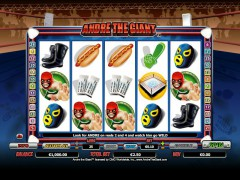 Andre The Giant слот автоматы slot-77.com NYX Interactive 1/5