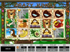 Crazy Jungle слот автоматы slot-77.com Topgame 1/5