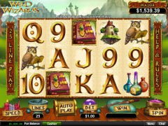 Wild Wizards слот автоматы slot-77.com RealTimeGaming 1/5