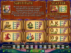 Wild Wizards слот автоматы slot-77.com RealTimeGaming 2/5