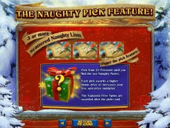 The Naughty List слот автоматы slot-77.com RealTimeGaming 4/5