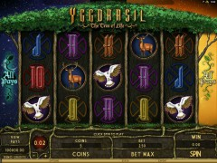 Yggdrasil - The Tree Of Life - Microgaming
