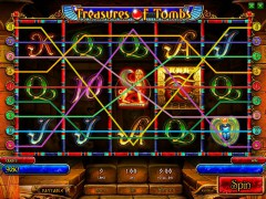 Treasures Of Tombs (bonus) слот автоматы slot-77.com Playson 5/5