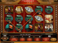 The Great Art Robbery слот автоматы slot-77.com iSoftBet 5/5