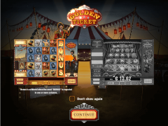 Golden Ticket слот автоматы slot-77.com Play'nGo 1/5