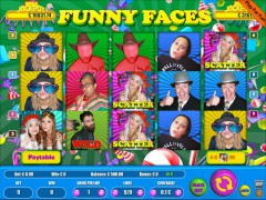 Funny Faces 9 Lines слот автоматы slot-77.com Wirex Games 1/5
