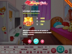 Manga Girls 9 Lines слот автоматы slot-77.com Wirex Games 2/5